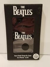 The Beatles Sleek Black Iphone 4 Or 4S Hard Shell Cell Phone Case New!