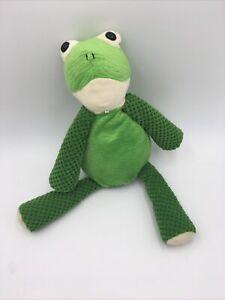 "Scentsy Buddy RIBBERT Frog Plush Stuffed Animal 16"" 2010"