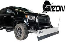 Bizon Aluminum Snow Plow (fits) 2015-2018 Chevy Colorado GMC Canyon 4WD ONLY