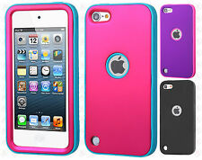 iPod Touch 5th 6th Gen IMPACT Verge HYBRID Case Skin Phone Cover +Screen Guard