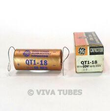 NOS Nib Vintage Ge QT1-18 Can Condensateur 50-60 Mfd à 350 Wvdc