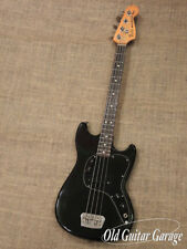 Fender 1981 Musicmaster Bass Used Electric Bass FREE Shipping