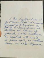1966 9) CAMERUN AUTOGRAFO GRANDE RELIGIOSO ENGELBERT MVENG ASSASSINATO NEL 1995
