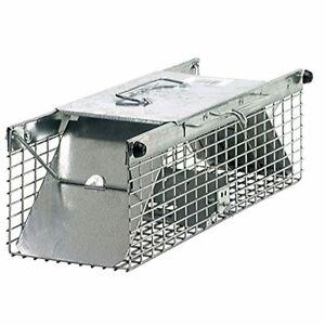 Havahart 1025 Small 2-Door Live Animal Trap – Perfect For Squirrel Chipmunk Rats