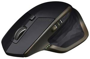 Logitech MX Master Black 910-004337 Wireless Bluetooth Rechargeable Laser Mouse