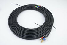 25ft  RCA to RCA RGB YPbPr Component Video Coax Cable RG-6U CL2
