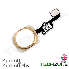 "For iPhone 6S 4.7"" Home Button Gold Flex Cable Main Menu Home Button Gold"