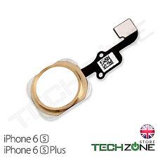 """Per iPhone 6 S 4.7"""" Pulsante Home Gold Flex Cable principale Menu Pulsante Home Oro"""