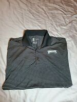 Nike Dri-Fit On Field Philadelphia Eagles Polo Shirt NFL Black Men's MEDIUM