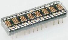 Broadcom Hcms-2975 de 8 Dígitos matriz puntos pantalla Led 7 X 5 rojo 0.23 MCD