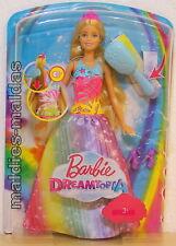 Barbie Dreamtopia Regenbogen Königreich  Magische Haarspiel-Prinzessin FRB12 NEU