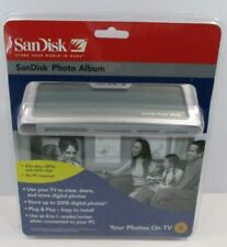 SANDISK Shoot & Store Digital Photo Album/Card Reader SDV2-R (View Photos on TV)