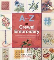 A-Z of Crewel Embroidery, Paperback by Country Bumpkin Publications (COR), Li...
