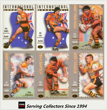 1994 Dynamic Rugby League The Masters Balmain Tigers Team Set(7)