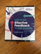 How to Give Effective Feedback to Your Students by Susan M. Brookhart