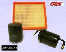 FORD COURIER PC 2WD 4WD 2.6L G6 OIL AIR FUEL FILTER SERVICE KIT  1991-1996