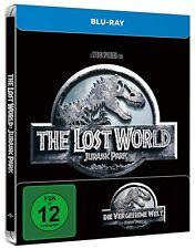 JURASSIC PARK 2: DIE VERGESSENE WELT (Blu-ray Disc, Steelbook) NEU+OVP