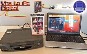 VHS Video Player / Recorder Kit - Convert Copy VHS Tape To DVD, PC + VCR PLAYER!
