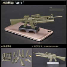 1/6 Scale M16A4 Toy Gun Model Puzzles Building Bricks Gun Soldier Rifle Weapon
