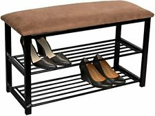 Sorbus Shoe Rack Bench – Shoes Racks Organizer