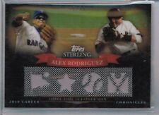 2010 Topps Sterling Alex Rodriguez Jersey Relic #'ed 18/25