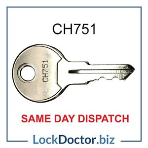 CH751 Utility Key for Plant/Alarm Panels/Lift/ Key Switch FREE 48HR TRACKED POST