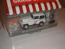 Jeep Wrangler avec postier Greenlight 1:64