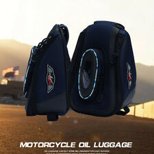 Small Magnetic Motorcycle Luggage Waterproof Oil Tank Bag Saddlebag High Quality