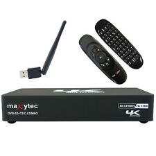Maxytec Multibox 4K E2 Linux + Android Wlan DVB-S2/T2/C Receiver + e40 Air Mouse