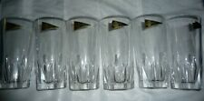 RCR 24% LEAD CRYSTAL DA VINCI COLLECTION SET OF 6