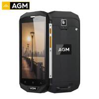 OTG Smartphone AGM A8 SE Waterproof 5.0'' HD 2GB+16GB Quad Core 8.0MP 4050mAh