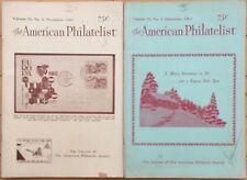 American Philatelist Magazine -1962, Volume 76, November, December