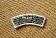 Polish ARMY reconnaissance Scout PATCH - DESERT FORCE UNIT - ISAF POLAND CHEVRON