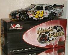 2009 RFO JEFF GORDON #24 NATIONAL GUARD COLOR CHROME 1/24 CAR#282/500 AWESOME