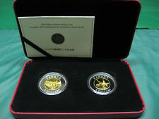 2005 Chinese Railway Workers Canadian Silver Coins - Set of 2 x $8 Coins