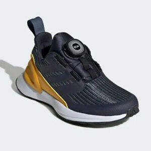 uk size  6 - adidas rapidarun boa  trainers -16311 g27302