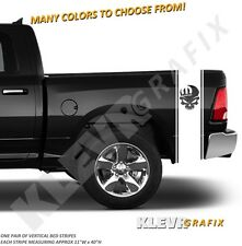 MOPAR SKULL Dodge Ram 1500 2500 Truck Bed Stripes Vinyl Decal Graphics Stickers