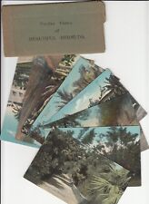 Lot of 8 Vintage Era Bermuda Postcards + 12 Views Foldout Collectible Souvenir
