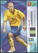 PANINI FIFA WORLD CUP-GOAAL 2006- #097-SWEDEN-FREDRIK LJUNGBERG
