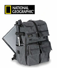 Gray National Geographic NG W5070 Walkabout DSLR Camera Photo Bag Backpack