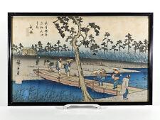 Utagawa HIROSHIGE Holzschnitt ° Japan 19tes ° Die 69 Stationen des Kisokaido