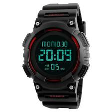 Digital Sports Military Watch LED Backlight 50m Water Resistant & Shockproof New
