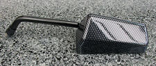 VELO  MOTORCYCLE RIGHT HAND 10MM OBLONG CARBON LOOK MIRROR MIR088 BC32404 T