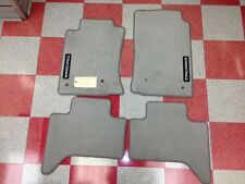 2005-2011 Tacoma Double Cab Carpet Floor Mats-Light Charcoal Gray-Genuine Toyota