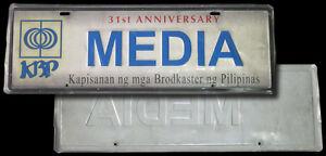2004 KAPISANAN NG MGA BRODKASTER NG PILIPINAS MEDIA CAR PLATE