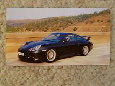 2000 Porsche 911 GT2 Coupe Postcard / Collector Card RARE Awesome L@@K
