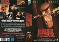 (VHS) Under Pressure - Charlie Sheen, Mare Winningham, David Andrews