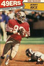 save off 3cc93 76a4c Jerry Rice Football Trading Cards for sale | eBay