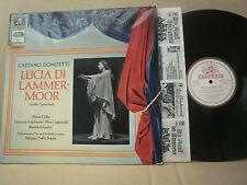 COLUMBIA STC 80742 RED/GOLD DONIZETTI LUCIA DI LAMMERMOOR CALLAS / SERAFIN P.O.