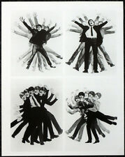 THE BEATLES POSTER PAGE . 1964 A HARD DAYS NIGHT FILM MOVIE PROMO PHOTOS . 16D